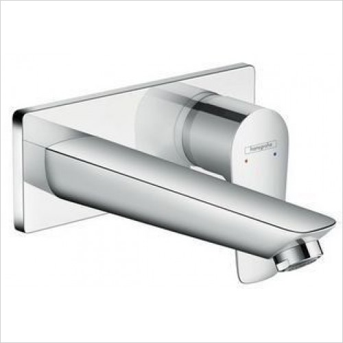 Hansgrohe Taps - Talis E Single Lever Basin Mixer With Spout 165mm WM