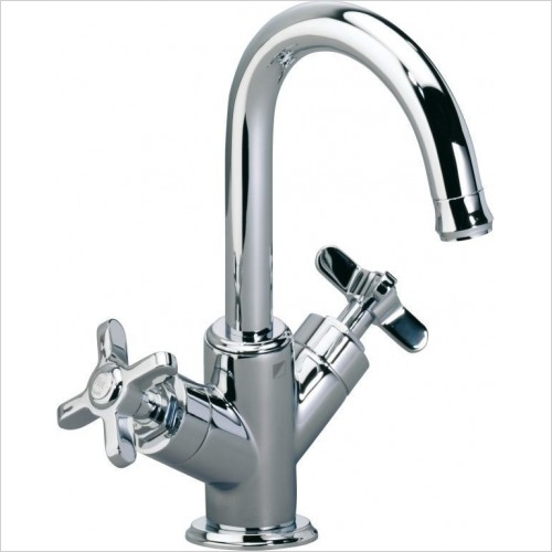 Roper Rhodes Taps - Wessex Basin Mixer With Click Waste