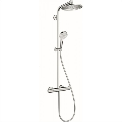 Hansgrohe Showers - Crometta S 240 Shower pipe Bathroom Shower Set