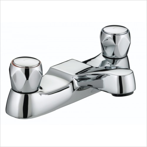 Bristan Taps - Club Bath Filler With Metal Heads