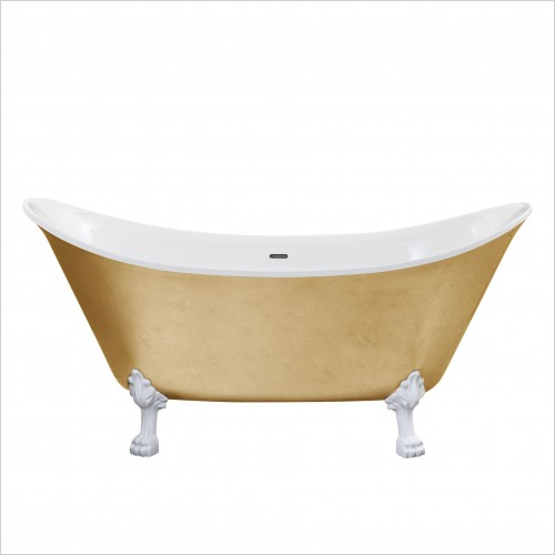 Heritage Bathtubs - Lyddington Freestanding Bath No Tap Hole Including Feet