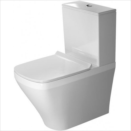 Duravit - Toilets - DuraStyle Toilet Close-Coupled 630mm Washdown Vario Outlet
