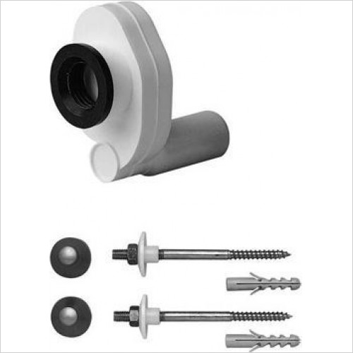 Duravit Optional Extras - Installation Kit For Urinals Ben Jim Bill Pago