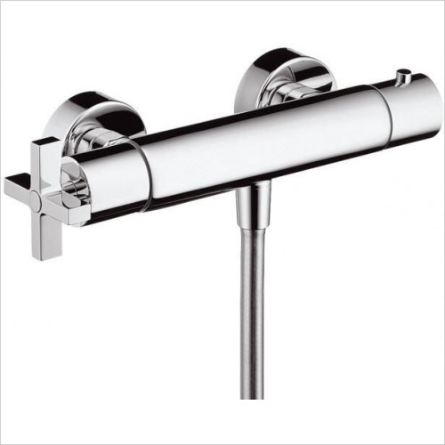 Axor Showers - Citterio Thermostatic Shower Mixer With Cross Handles