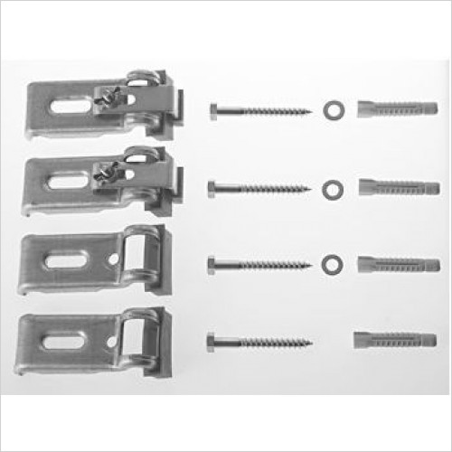 Duravit Optional Extras - Bathtub Anchors (4 Pieces)