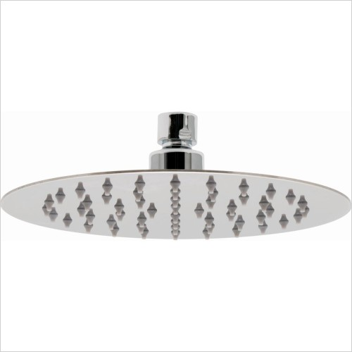 VADO Showers - Aquablade Slimline Round Shower Head 200mm (8'')
