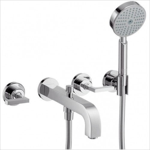 Axor Showers - Citterio 3-Hole Bath Shower Mixer With Lever Handles
