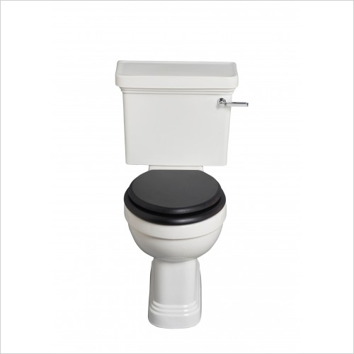 Heritage Toilets - Wynwood Comfort Height Close Coupled Toilet Pan