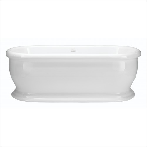 Heritage Bathtubs - Derrymore 1745 x 790mm Acrylic DE Roll Top Bath 2TH