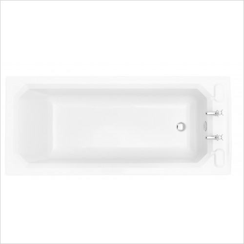 Heritage Bathtubs - Granley Single Ended 1700 x 750 Acrylic Fitted Bath