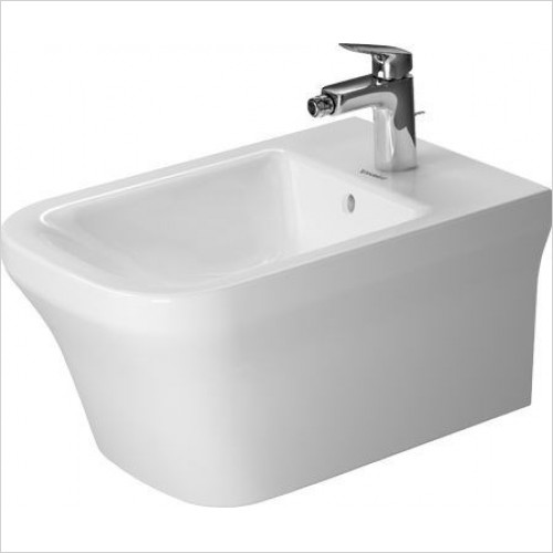 Duravit Bidets - P3 Comforts Bidet Wall Mounted 570mm 1TH