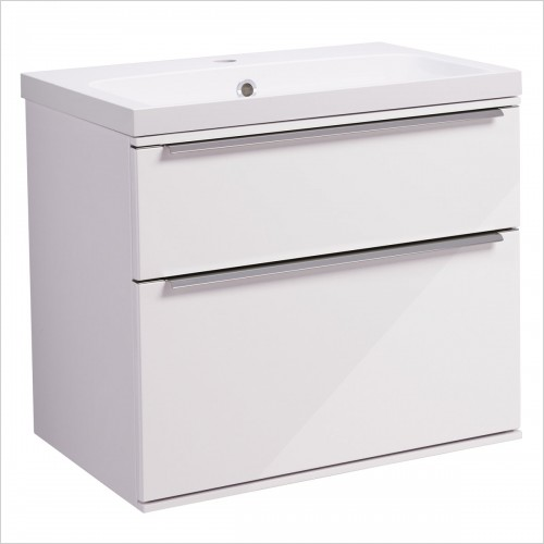 Roper Rhodes Furniture - Scheme 600mm Wall Mounted Double Drawer