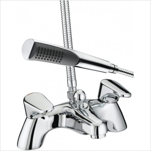 Bristan Showers - Jute Pillar Bath Shower Mixer