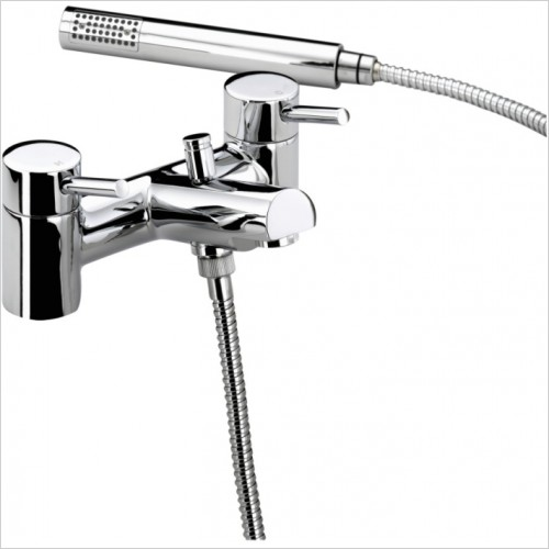 Prism Pillar Bath Shower Mixer