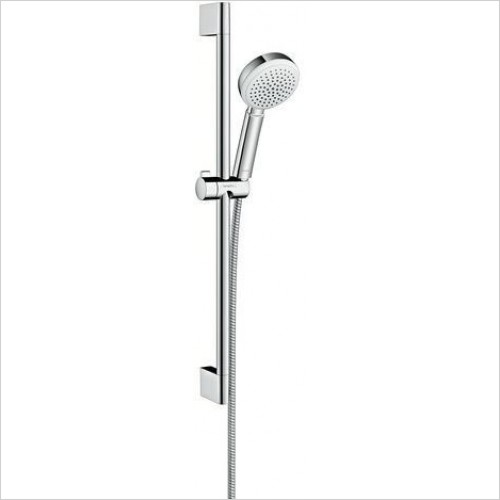 Crometta 100 1 Jet 7l Unica Showering Set Fixtures 65cm