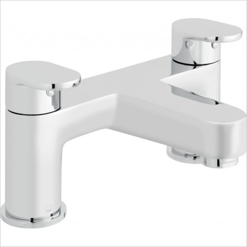 VADO Taps - Life 2 Hole Bath Filler Deck mounted