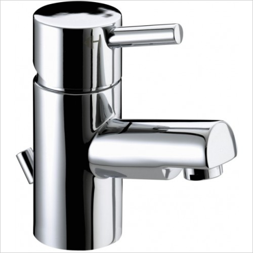 Bristan Taps - Prism Small Basin Mixer With Pop Up Waste