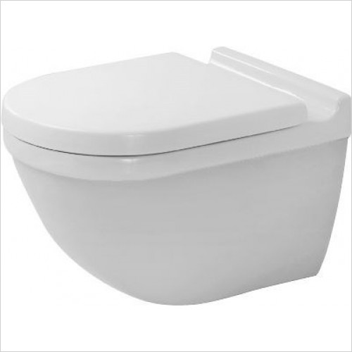 Duravit - Toilets - Starck 3 Toilet Wall Mounted 540mm Washdown Durafix2