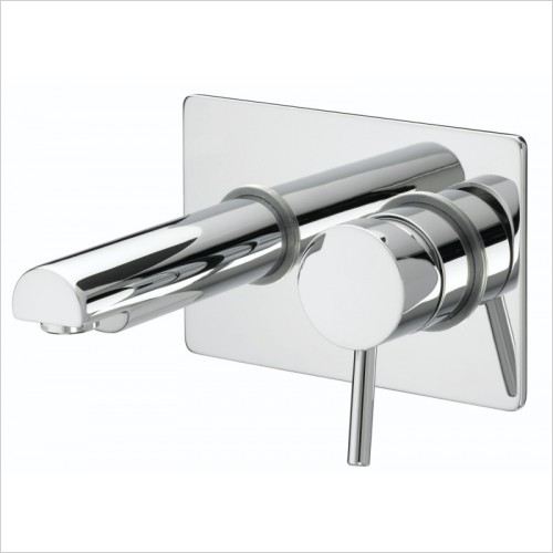 Bristan Taps - Prism Single Lever Wall Mounted Bath Filler