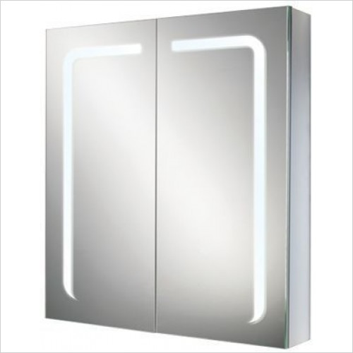 HIB Furniture - Stratus 60 Bathroom Mirror Cabinet 60 x 70 x 15cm