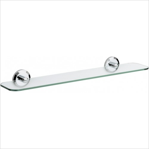 Bristan Accessories - Solo Glass Shelf
