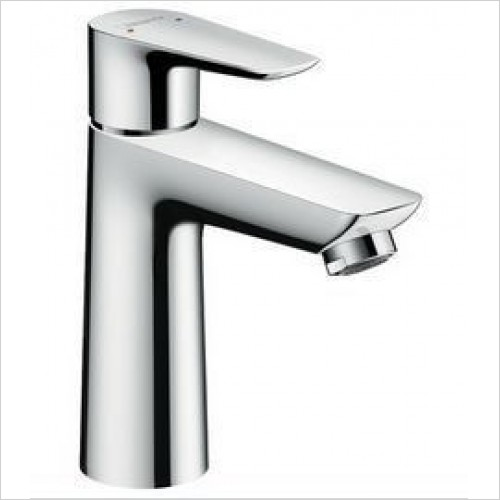Hansgrohe Taps - Talis E Single Lever Basin Mixer 110 With Push-Open Waste