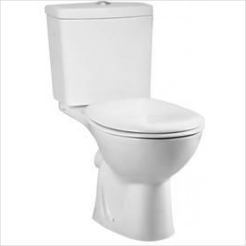Vitra Toilets - Layton Close-Coupled WC Pan