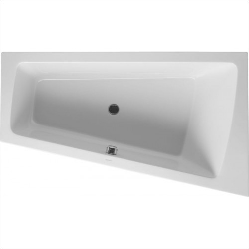 Duravit Baths - PaioVA Bathtub 1700x1000mm Corner Right Built-In Support Fra