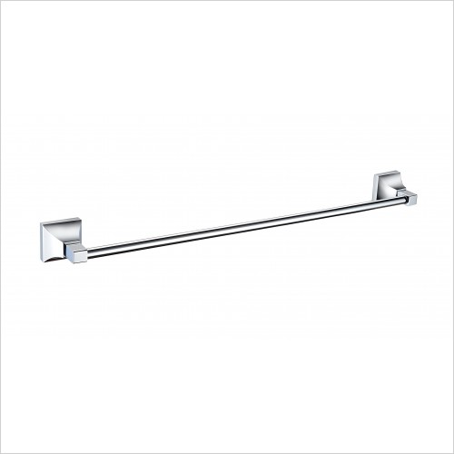 Heritage Accessories - Chancery Single Towel Rail