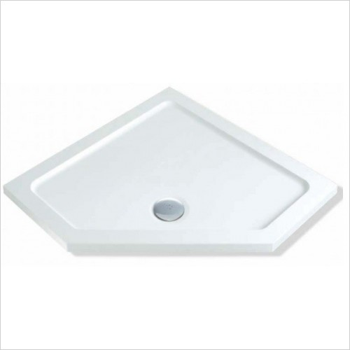 MX Shower Trays - Elements Low Profile 900 x 900mm Pentangle Tray