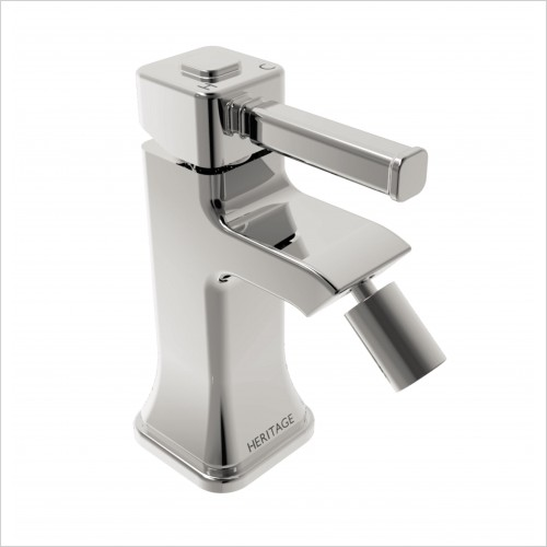 Heritage Taps - Somersby Chrome Bidet Mixer