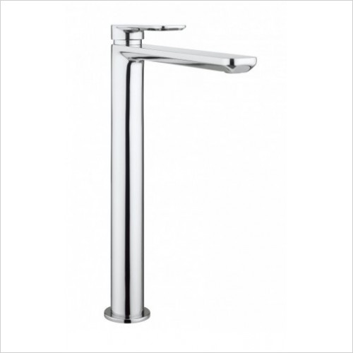 Crosswater Taps - Pier Tall Basin Monobloc No Pop Up Waste