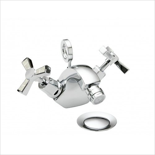 Heritage Taps - Gracechurch Bidet Mixer