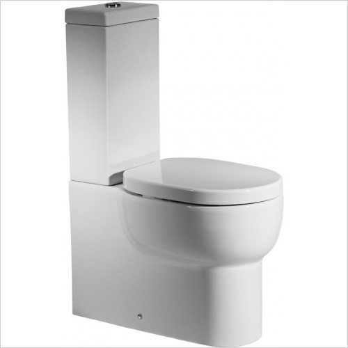 Roper Rhodes Toilets - Zest Close Coupled WC  Toilet Pan