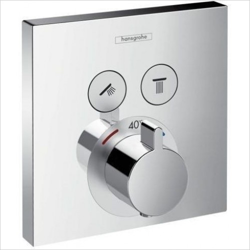 Hansgrohe Showers - Showerselect Thermostat - 2 Outlets