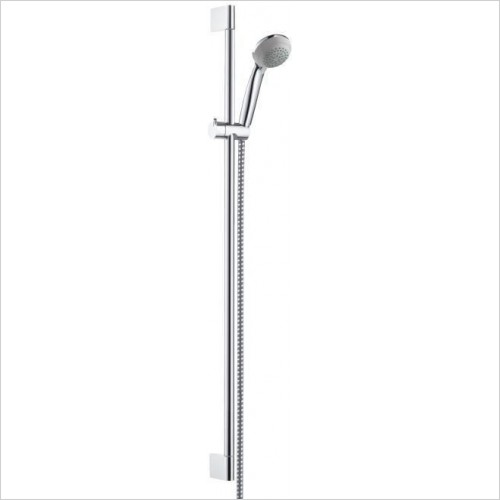 Hansgrohe Showers - Crometta 85 Green/Unica'Crometta Set 0.90m