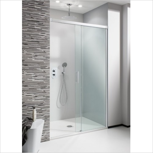 Simpsons Shower Enclosures - Design Soft Close Slider 1100mm