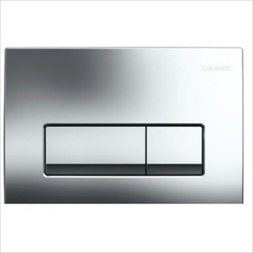Geberit Optional Extras - Flush Plate Delta51 For Dual Flush