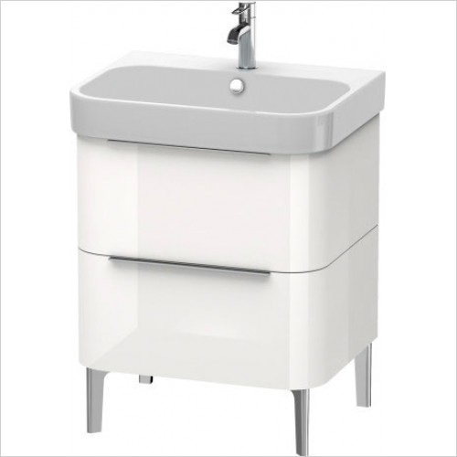 Duravit Furniture - Happy D.2 Vanity Unit Freestanding 625, F 231865, 2 Drawer