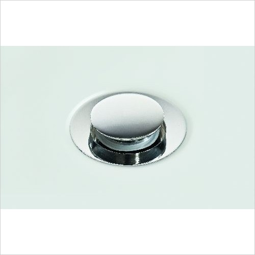 Matki Optional Extras - Unslotted Push Down Basin Waste Without Overflow Slot