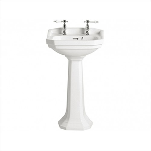 Heritage Basins - Granley Cloakroom Basin 2TH