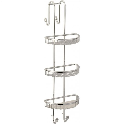 Roper Rhodes Accessories - Sigma Three Shelf Shower Caddy