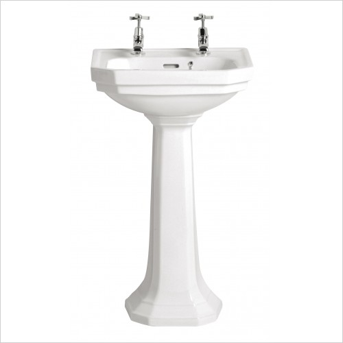 Heritage Basins - Granley Cloakroom Basin 1 Tap Hole