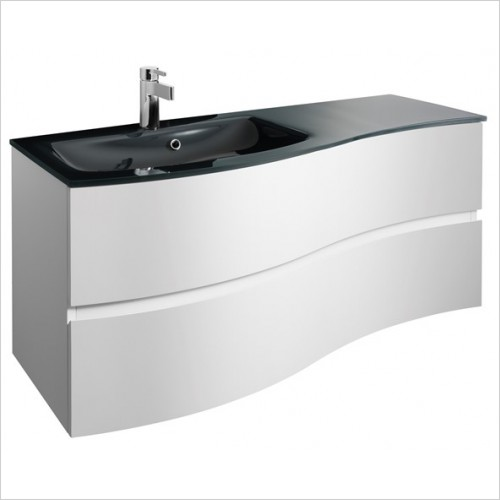 Crosswater Bathroom Furniture - Svelte 1200mm Vanity Unit