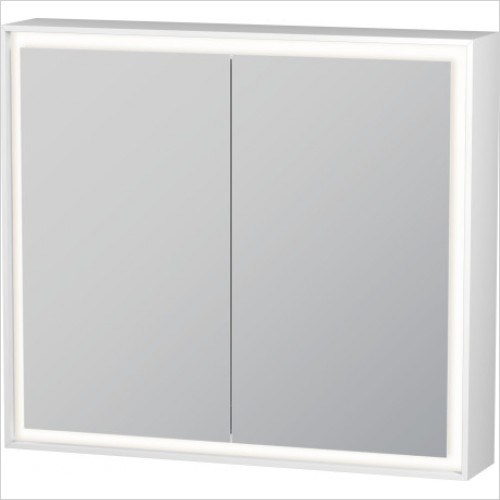 Duravit Furniture - L Cube Mirror Cabinet With Lighting 800mm