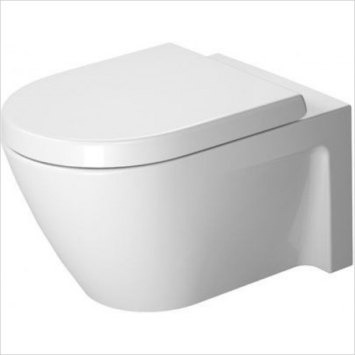 Duravit - Toilets - Starck 2 Toilet Wall Mounted 540mm Washdown
