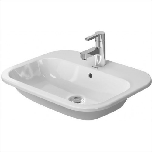 Duravit - Basins - Happy D.2 Vanity Basin 600mm Countertop 1TH