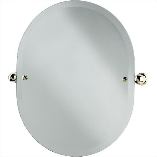 Perrin and Rowe Accessories - Traditional Oval Mirror 625 x 500mm