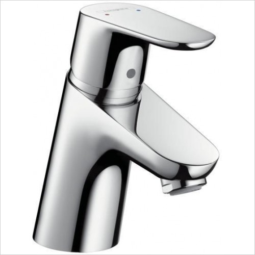 Hansgrohe Taps - Focus Single Lever Basin Mixer 70 With Push-Open Waste Set