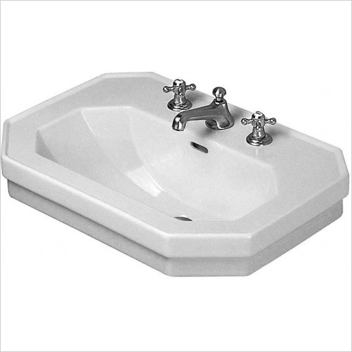 Duravit - Basins - 1930 Series Wash basin for Bathrooms 800mm 1 Tap Hole